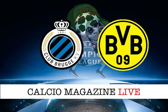 Club Brugge Borussia Dortmund cronaca diretta live risultato in tempo reale