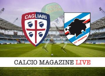 Cagliari Sampdoria cronaca diretta live risultato in tempo reale