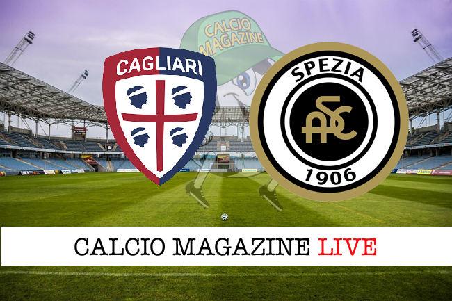 Cagliari Spezia cronaca diretta live risultato in tempo reale