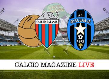 Catania Bisceglie cronaca diretta live risultato in tempo reale