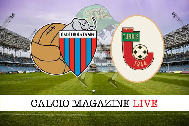 Catania Turris cronaca diretta live risultato in tempo reale