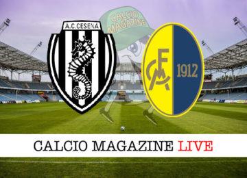 Cesena Modena cronaca diretta live risultato in tempo reale
