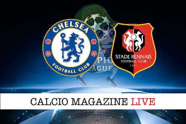 Chelsea Rennes cronaca diretta live risultato in tempo reale