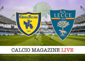 Chievo Lecce cronaca diretta live risultato in tempo reale