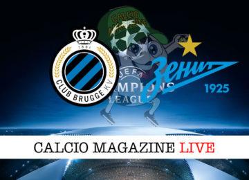 Club Brugge Zenit cronaca diretta live risultato in tempo reale
