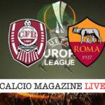 Cluj Roma cronaca diretta live risultato in tempo reale