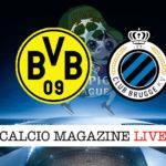 Dortmund Club Brugge cronaca diretta live risultato in tempo reale