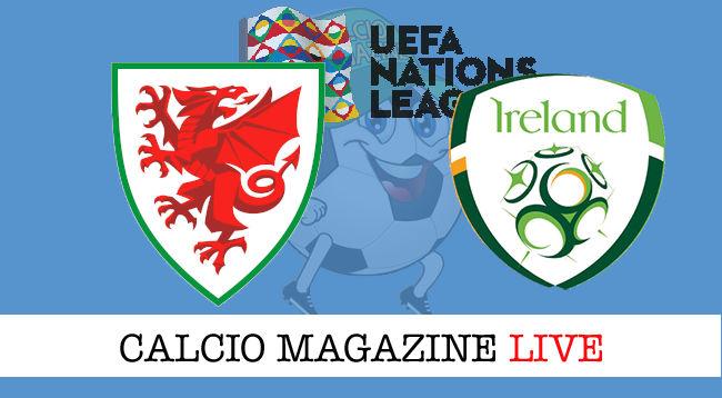 Galles Irlanda cronaca diretta live risultato in tempo reale