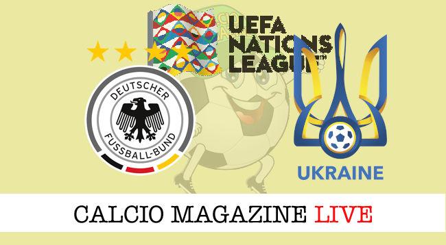 Germania Ucraina cronaca diretta live risultato in tempo reale