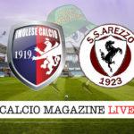 Imolese Arezzo cronaca diretta live risultato in tempo reale