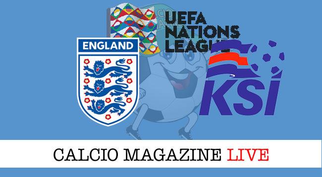 Inghilterra Islanda cronaca diretta live risultato in tempo reale