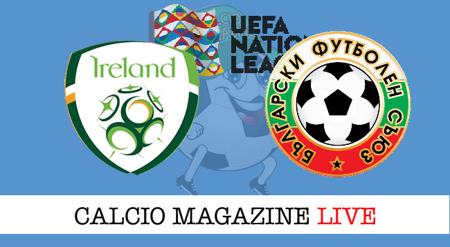 Irlanda Bulgaria cronaca diretta live risultato in tempo reale