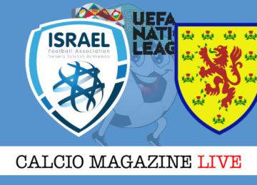 Israele Scozia cronaca diretta live risultato in tempo reale