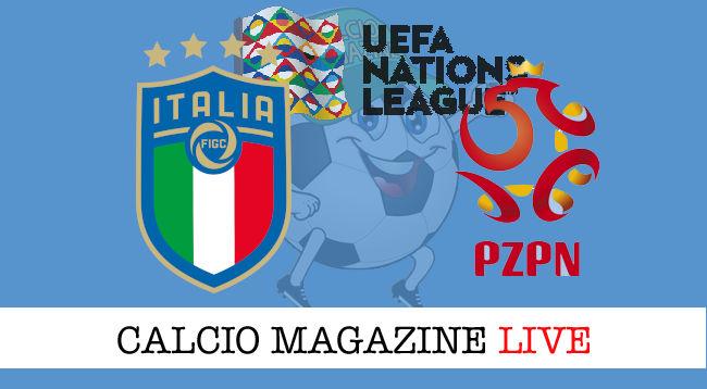 Italia Polonia cronaca diretta live risultato in tempo reale