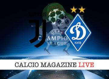 Juventus Dinamo Kiev cronaca diretta live risultato in tempo reale
