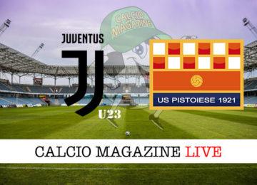Juventus U23 Pistoiese cronaca diretta live risultato in tempo reale