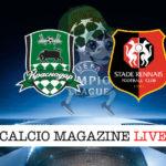 Krasnodar Rennes cronaca diretta live risultato in tempo reale