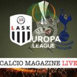 LASK Tottenham cronaca diretta live risultato in tempo reale
