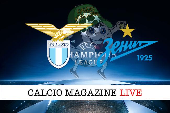 Lazio Zenit cronaca diretta live risultato in tempo reale