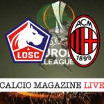 Lille Milan cronaca diretta live risultato in tempo reale