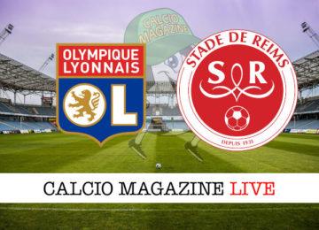 Lione Reims cronaca diretta live risultato in tempo reale