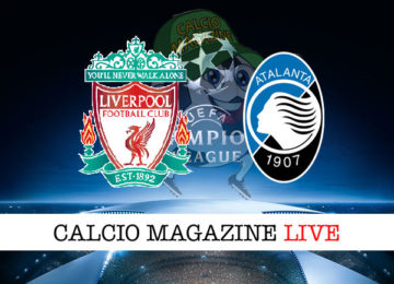 Liverpool Atalanta cronaca diretta live risultato in tempo reale