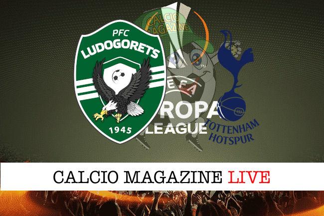 Ludogorets Tottenham cronaca diretta live risultato in tempo reale