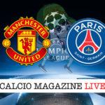 Manchester United PSG cronaca diretta live risultato in tempo reale