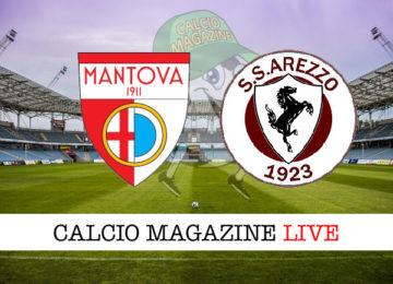 Mantova Arezzo cronaca diretta live risultato in tempo reale