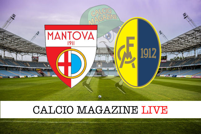 Mantova Modena cronaca diretta live risultato in tempo reale