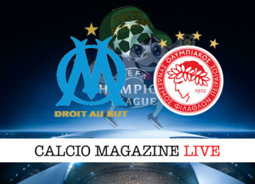 Marsiglia Olympiakos cronaca diretta live risultato in tempo reale