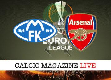 Molde Arsenal cronaca diretta live risultato in tempo reale