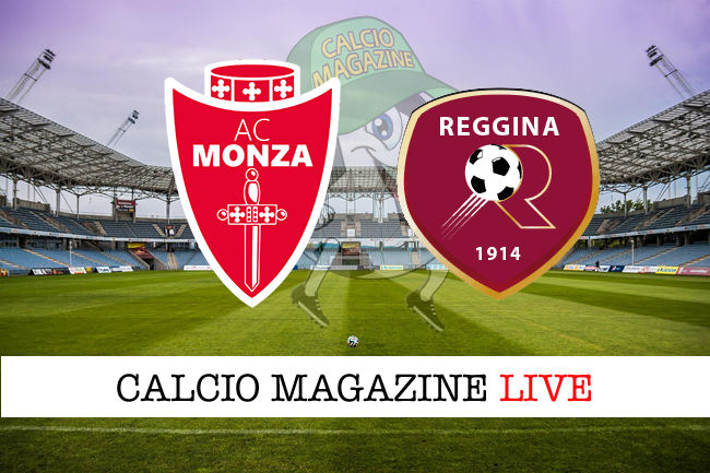 Monza Reggina cronaca diretta live risultato in tempo reale