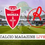 Monza Vicenza cronaca diretta live risultato in tempo reale