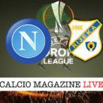 Napoli Rijeka cronaca diretta live risultato in tempo reale