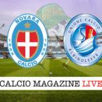 Novara Albinoleffe cronaca diretta live risultato in tempo reale
