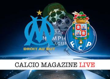 Olympique Marsiglia Porto cronaca diretta live risultato in tempo reale