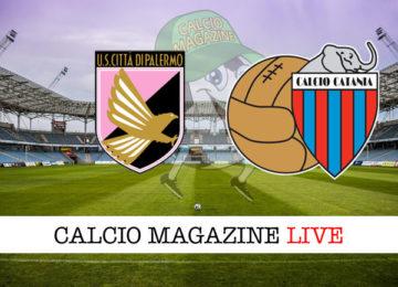 Palermo Catania cronaca diretta live risultato in tempo reale