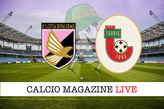 Palermo Turris cronaca diretta live risultato in tempo reale