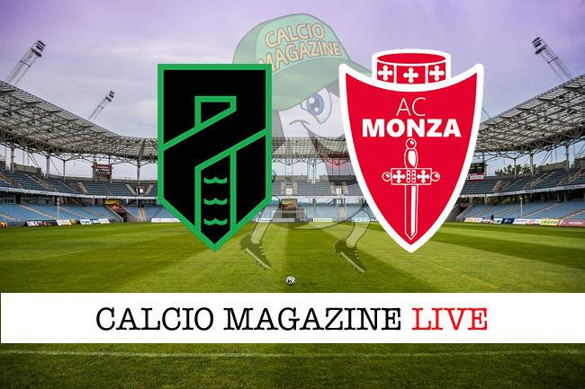Pordenone Monza cronaca diretta live risultato in tempo reale