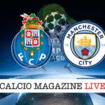 Porto Manchester City cronaca diretta live risultato in tempo reale