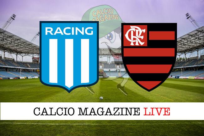 Racing Club Flamengo cronaca diretta live risultato in tempo reale