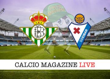 Real Betis Eibar cronaca diretta live risultato in tempo reale