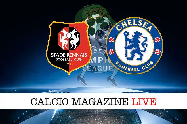 Rennes Chelsea cronaca diretta live risultato in tempo reale