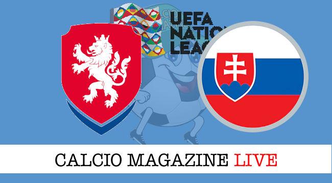 Repubblica Ceca Slovacchia cronaca diretta live risultato in tempo reale