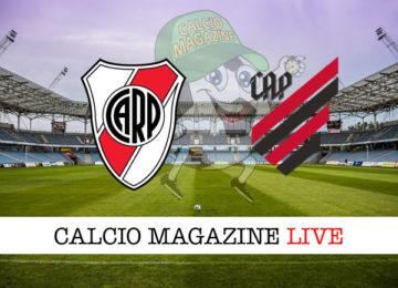 River Plate Athletico PR cronaca diretta live risultato in tempo reale