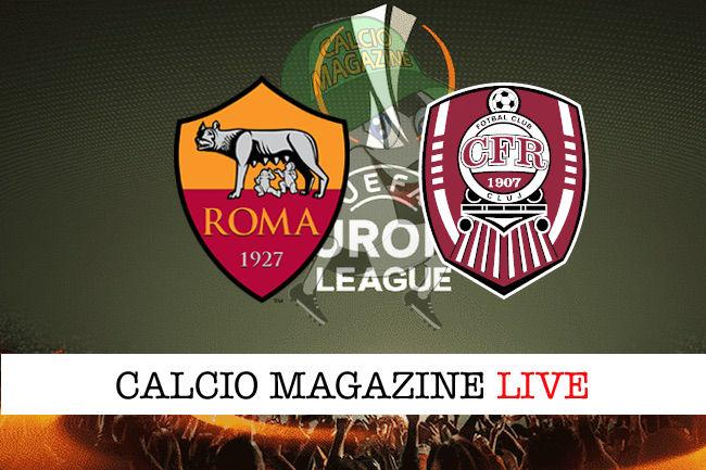 Roma Cluj cronaca diretta live risultato in tempo reale