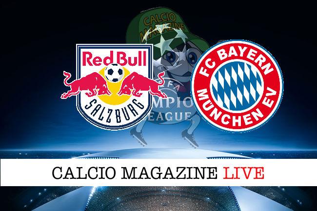 Salisburgo Bayern Monaco cronaca diretta live risultato in tempo reale