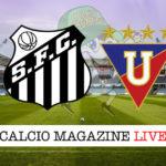 Santos LDU Quito cronaca diretta live risultato in tempo reale