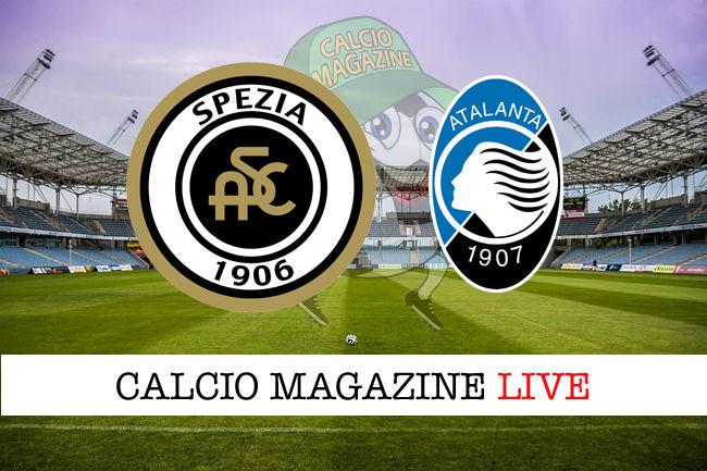 Spezia Atalanta cronaca diretta live risultato in tempo reale